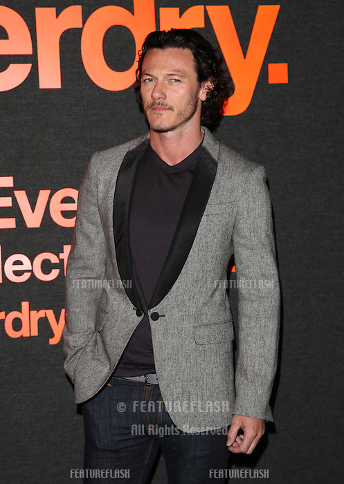 Luke Evans attending The Superdry AW14 event, London Collections: Men held at the old sorting office<br /> London. 07/01/2014 Picture by: Henry Harris / Featureflash