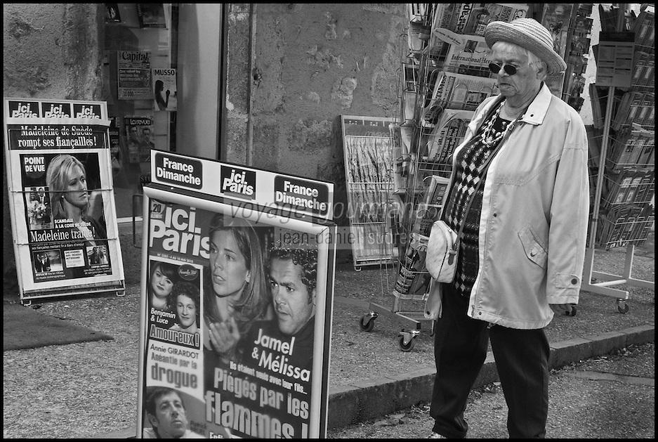 Europe/Europe/France/Midi-Pyrénées/46/Lot/Cajarc: A la maison de presse [Non destiné à un usage publicitaire - Not intended for an advertising use]