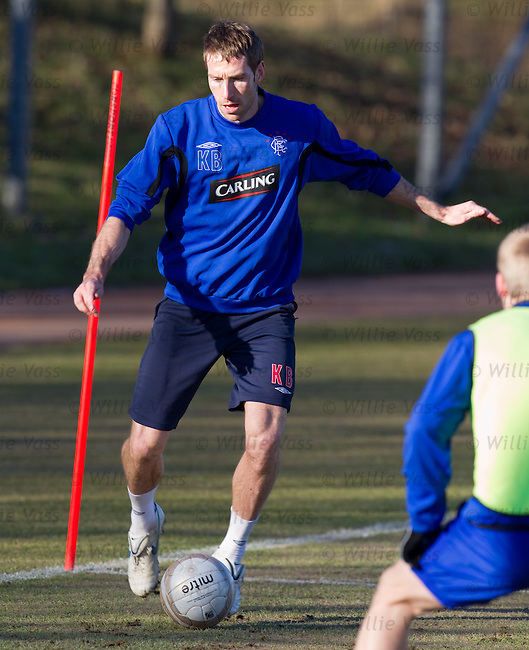 Kirk Broadfoot at training