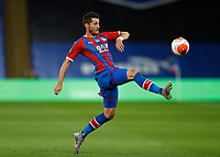 29th June 2020; Selhurst Park, London, England; English Premier League Football, Crystal Palace versus Burnley Football Club; Joel Ward of Crystal Palace ktaking control of the ball