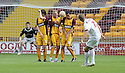 16/08/2008  Copyright Pic: James Stewart.File Name : sct_jspa10_motherwell_v_aberdeen.CHARLIE MULGREW KNOCKS THE BALL OVER THE MOTHERWELL DEFENCE TO SCORE ABERDEEN'S GOAL....James Stewart Photo Agency 19 Carronlea Drive, Falkirk. FK2 8DN      Vat Reg No. 607 6932 25.Studio      : +44 (0)1324 611191 .Mobile      : +44 (0)7721 416997.E-mail  :  jim@jspa.co.uk.If you require further information then contact Jim Stewart on any of the numbers above........