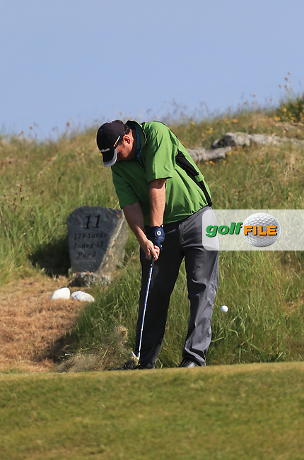 Thomas Fay (Rush) on the 11th during the 1st round of the Irish Amateur Close Championship 2013 at the Connemara Golf Club Sat  8/6/13<br /> Picture:  Thos Caffrey www.golffile.ie
