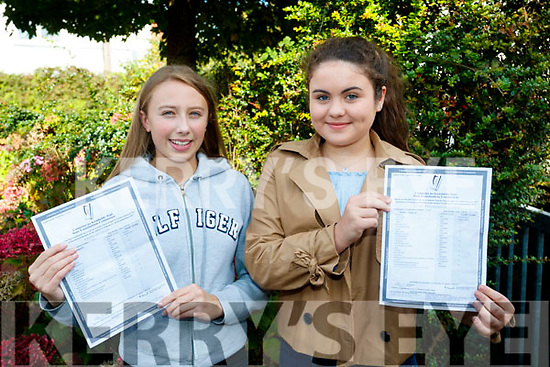 Rachel Kilgallen, Presentation Secondary School, Tralee who got 10 A's in the Junior Certificate and Charlotte Calleja O'Halloran Presentation Secondary School, Tralee and now attending Mounthawk Secondary School, Tralee, got 10 A's in the Junior Certificate and a Higher Merit in English.