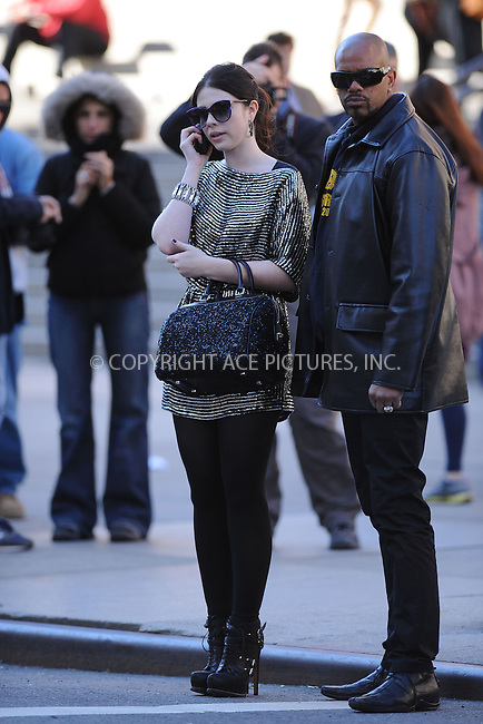 WWW.ACEPIXS.COM . . . . . .October 11, 2012, New York City....Michelle Trachtenberg on the set of Gossip Girl on October 11, 2012 in New York City....Please byline: KRISTIN CALLAHAN - ACEPIXS.COM.. . . . . . ..Ace Pictures, Inc: ..tel: (212) 243 8787 or (646) 769 0430..e-mail: info@acepixs.com..web: http://www.acepixs.com .