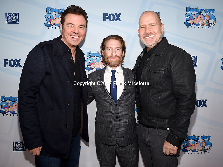 1/10/2018: Family Guy 300th Episode Celebration | PictureGroup