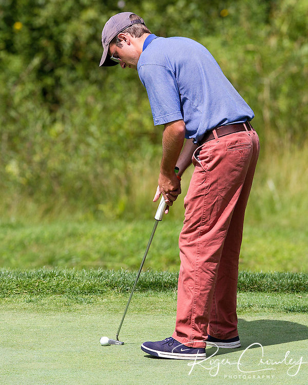 DAY THREE: 2013 Vermont Amateur Golf Championship was won by EvanRussell, Country Club of Vermont, with a five under par after four rounds at the Country Club of Barre in Plainfield, Vermont.