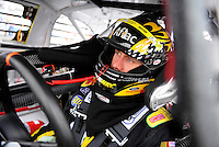 Oct. 30, 2009; Talladega, AL, USA; NASCAR Sprint Cup Series driver Carl Edwards during practice for the Amp Energy 500 at the Talladega Superspeedway. Mandatory Credit: Mark J. Rebilas-