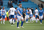 Kilmarnock v St Johnstone&hellip;09.04.16  Rugby Park, Kilmarnock<br />A dissappointed Liam Craig leaves the pitch at full time<br />Picture by Graeme Hart.<br />Copyright Perthshire Picture Agency<br />Tel: 01738 623350  Mobile: 07990 594431