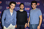 CORAL GABLES, FL - MARCH 05: Gianluca Ginoble, Ignazio Boschetto and Piero Barone of IL Volvo backstage during a meet and greet at Bank United Center on Saturday March 05, 2016 in Miami, Florida. ( Photo by Johnny Louis / jlnphotography.com )