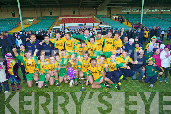 Munster champions Gneeveguilla who beat Clare'e St Breckans last Sunday in The Galeic Grounds, Limerick.
