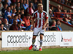 Mark Duffy of Sheffield Utd during the English League One match at Glanford Park Stadium, Scunthorpe. Picture date: September 24th, 2016. Pic Simon Bellis/Sportimage