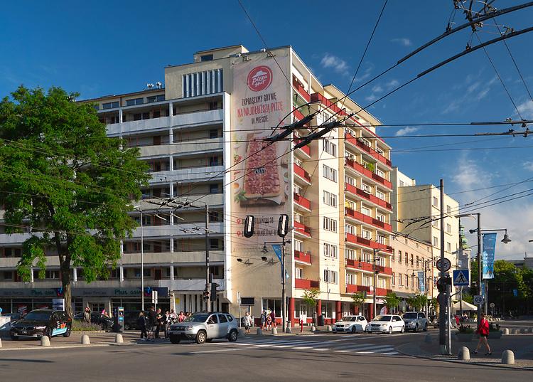 Ulica Świętojańska w Gdyni.