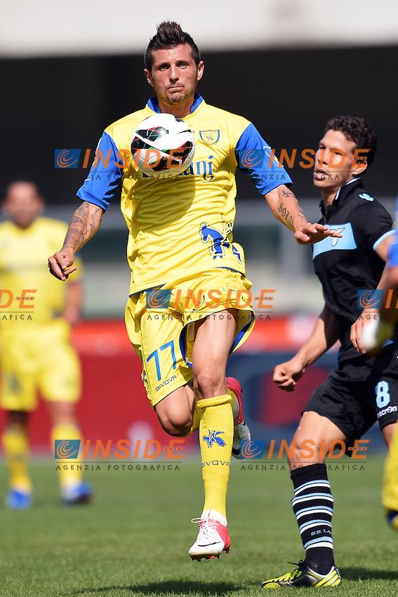 """Cyril Thereau Chievo.Verona 16/9/2012 Stadio """"Bentegodi"""".Football Calcio Serie A 2012/2013.Chievo Vs Lazio.Foto Andrea Staccioli Insidefoto"""