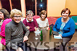 "l-r  Kathleen O'Mahony, Kit Collins, Mary Casey and Mary Godley enjoying the Pattern ""Thrasher"" Festival at the White Sands Hotel Ballyheigue on Tuesday. Welcome the Homecoming of the Diaspora for Pattern Day on Thursday"