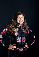 Mar. 21, 2014; Chandler, AZ, USA; LOORRS junior 2 driver Hailie Deegan poses for a portrait prior to round one at Wild Horse Motorsports Park. Mandatory Credit: Mark J. Rebilas-USA TODAY Sports