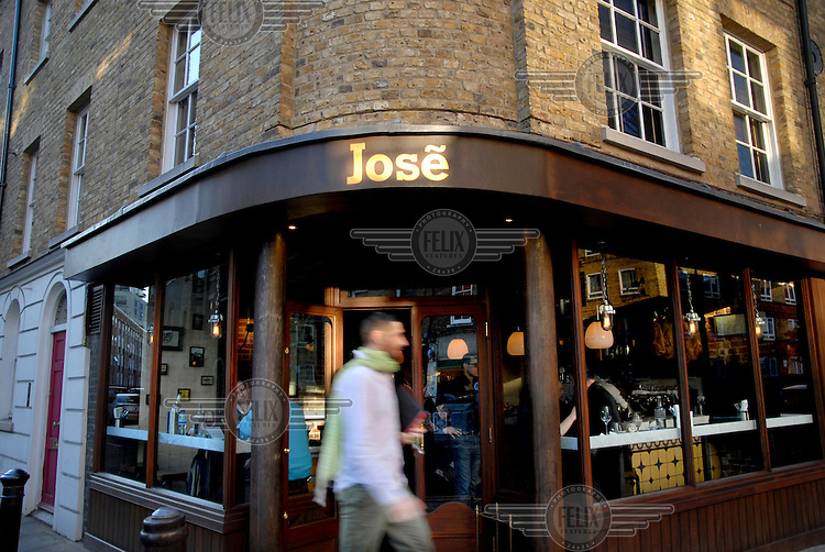 Jose, a restaurant owned by  Jose Pizarro on Bermondsey Street in London.