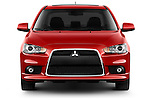 Straight front view of a 2012 Mitsubishi Lancer GT Touring