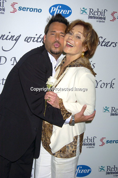Ricky Paull Goldin and Marj Dusay ..at An Evening with Daytime Stars benefitting HJD Multiple ..Sclerosis Care Center of Greater New York on May 19, 2005 at The Waldorf Astoria Hotel. The Evening was hosted by Ricky Paull Goldin. ..Photo byRobin Platzer, Twin Images