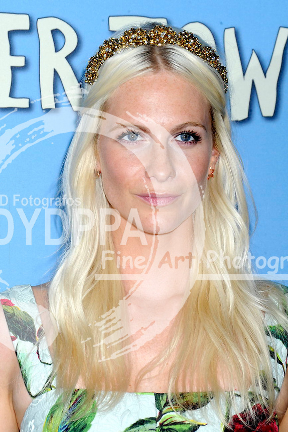 Poppy Delevingne attending the 'Paper Towns' premiere at AMC Loews Lincoln Square on July 21, 2015 in New York Cit