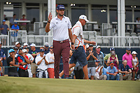 Lanto Griffin (USA) after putting up tight on 18 during round 4 of the 2019 Houston Open, Golf Club of Houston, Houston, Texas, USA. 10/13/2019.<br /> Picture Ken Murray / Golffile.ie<br /> <br /> All photo usage must carry mandatory copyright credit (© Golffile | Ken Murray)