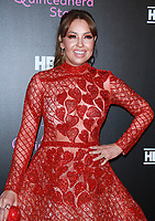 NEW YORK, NY December 04, 2017 Thalía Sodi  attendHBO Documentary Films Presents the New York Premiere of 15: A Quinceanera Story  at the Garage in New York (Credit:NortePhoto.com )