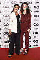 Bee Beardsworth &amp; Daisy Maybe at the the GQ Men of the Year Awards 2017 at the Tate Modern, London, UK. <br /> 05 September  2017<br /> Picture: Steve Vas/Featureflash/SilverHub 0208 004 5359 sales@silverhubmedia.com