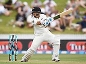 9th December 2017, Seddon Park, Hamilton, New Zealand; International Test Cricket, 2nd Test, Day 1, New Zealand versus West Indies;  Ross Taylor batting