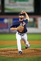 Binghamton Mets pitcher Adam Kolarek (22) delivers a pitch during a game against the Trenton Thunder on August 8, 2015 at NYSEG Stadium in Binghamton, New York.  Trenton defeated Binghamton 4-2.  (Mike Janes/Four Seam Images)