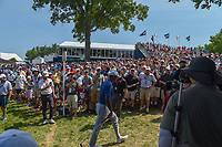 Tiger Woods (USA) heads to 10 through a packed gallery during 3rd round of the 100th PGA Championship at Bellerive Country Club, St. Louis, Missouri. 8/11/2018.<br /> Picture: Golffile | Ken Murray<br /> <br /> All photo usage must carry mandatory copyright credit (&copy; Golffile | Ken Murray)