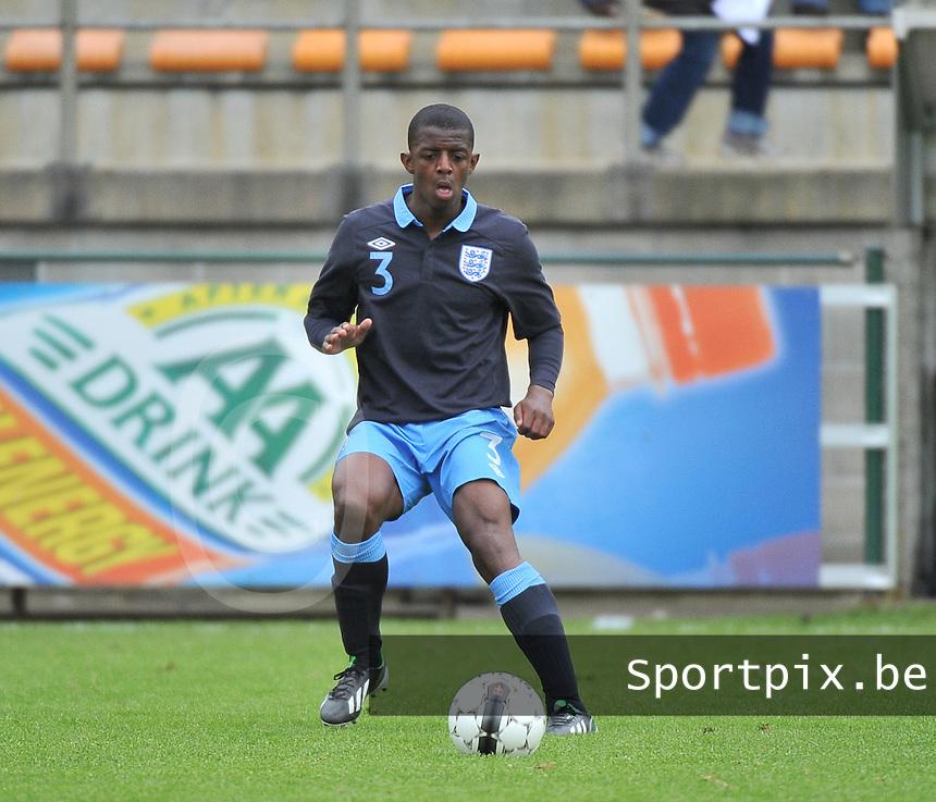 Belgium U19 - England U19 : Gregory Leigh (3).foto DAVID CATRY / Nikonpro.be