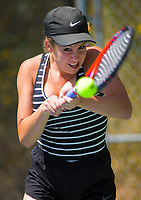 Emma Jane Barclay. 2019 Wellington Tennis Open at Renouf Centre in Wellington, New Zealand on Thursday, 19 December 2019. Photo: Dave Lintott / lintottphoto.co.nz