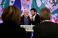 Frans Timmermans and Maurizio Martina<br /> Roma 17/11/2018. Assemblea Nazionale del Partito Democratico.<br /> Rome November 17th 2018. National Assembly of Italian Democratic Party.<br /> Foto Samantha Zucchi Insidefoto