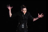 "ALINA MAKSYMENKO of Ukraine performs gala at 2011 World Cup Kiev, ""Deriugina Cup"" in Kiev, Ukraine on May 8, 2011."