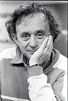 August 25, 1987 File Photo - Montreal (Qc) Canada - American filmmaker Frederick Wiseman at the 1987 World Film Festival.<br /> <br /> Frederick Wiseman (born January 1, 1930 in Boston, Massachusetts, U.S.) is an American documentary filmmaker. He came to documentary filmmaking after first being trained as a lawyer. He has won numerous film awards, as well as Guggenheim and MacArthur fellowships.