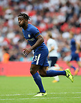Chelsea's Michy Batsuayi in action during the premier league match at the Wembley Stadium, London. Picture date 20th August 2017. Picture credit should read: David Klein/Sportimage