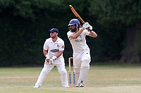 A Kirkpatrick in batting action for Upminster during Upminster CC vs Hornchurch CC, Shepherd Neame Essex League Cricket at Upminster Park on 8th July 2017