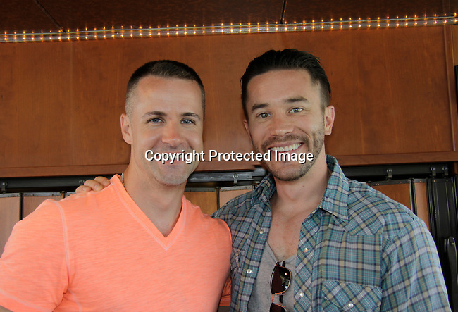 John Driscoll - Young and Restless, Guiding Light and Tom Pelphrey donated time at 15th Southwest Florida Soapfest 2014 Charity Weekend - at Cruisin' and Schmoozin' on May 25, 2104 aboard the Marco Island Princess (boat), Marco Island, Florida.  (Photo by Sue Coflin/Max Photos)