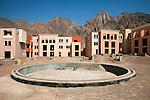 Taba, Sinai, July 2014. Al Farah sea side resort, unfinished and left abandoned since 2007.