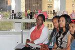 Scholars see the perfume business from sent, packaging, making - The Soledad O'Brien & Brad Raymond Starfish Foundation scholars from all over the country gathered in New York City, New York on July 25, 2014 at the Sensorium, Firmenich International Fine Fragrance where four mentors talked to the students - they were presented with their own fragrance. (Photo by Sue Coflin/Max Photos)