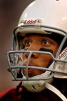 Nov. 6, 2005; Tempe, AZ, USA; Wide receiver (11) Larry Fitzgerald of the Arizona Cardinals against the Seattle Seahawks at Sun Devil Stadium. Mandatory Credit: Mark J. Rebilas
