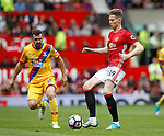 Scott McTominay of Manchester United in action during the English Premier League match at the Old Trafford Stadium, Manchester. Picture date: May 21st 2017. Pic credit should read: Simon Bellis/Sportimage