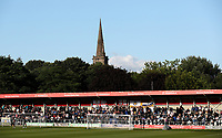 A general view of Peninsula Stadium (Moor Lane), home of Salford City FC<br /> <br /> Photographer Alex Dodd/CameraSport<br /> <br /> The Carabao Cup First Round - Salford City v Leeds United - Tuesday 13th August 2019 - Moor Lane - Salford<br />  <br /> World Copyright © 2019 CameraSport. All rights reserved. 43 Linden Ave. Countesthorpe. Leicester. England. LE8 5PG - Tel: +44 (0) 116 277 4147 - admin@camerasport.com - www.camerasport.com