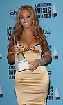 Beyonce at the 2007 American Music Awards press room held at the Nokia Theatre Los  Angeles, Ca. November 18, 2007.  Fitzroy Barrett