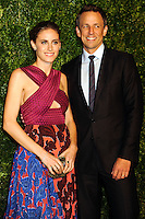 NEW YORK CITY, NY, USA - NOVEMBER 03: Alexi Ashe, Seth Meyers arrive at the 11th Annual CFDA/Vogue Fashion Fund Awards held at Spring Studios on November 3, 2014 in New York City, New York, United States. (Photo by Celebrity Monitor)
