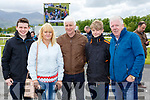 Alan, Tricia, ned and Jason Gray with John O'Sullivan at the Killarney races on Sunday