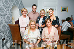 karen Moriarty, Tralee celebrating a Birthday with Family and friends at Bella Bia's. Pictured Niamh O Leary, Karen Moriarty Back l-r Anita Moriarty, cillian foale, Eimear O'Leary and Sarah Foale