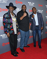 01 December 2018 - Los Angeles, California - Michael Spinks, Riddick Bowe, Evander Holyfield. Heavyweight Championship Of The World 'Wilder vs. Fury' held at The Staples Center. <br /> CAP/ADM/BT<br /> &copy;BT/ADM/Capital Pictures