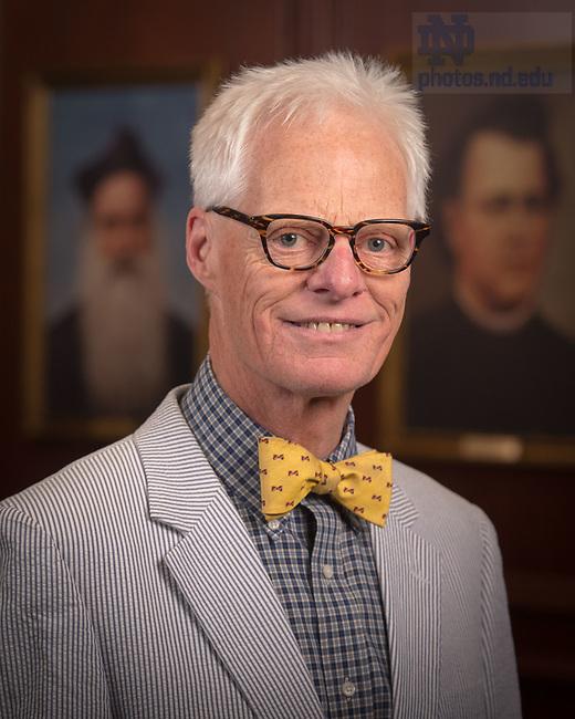 April 12, 2017; Thomas Gordon Smith, Emeritus faculty portrait (Photo by Matt Cashore/University of Notre Dame)