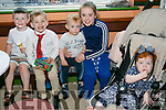 At the Kingdom County Fair in Ballybeggan on Sunday were Mason Burke, Gavin Conway, Kayden Lynch, Tinisha Horan, Demi Burke from Tralee