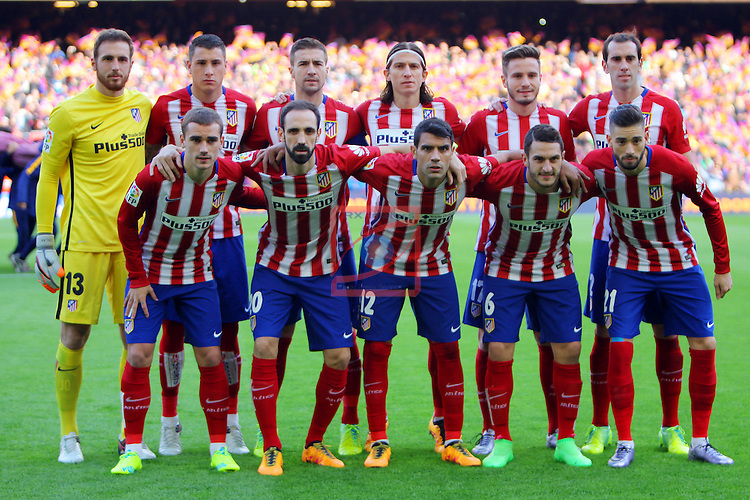 League BBVA 2015/2016 -Game: 22.<br /> FC Barcelona vs Atletico de Madrid: 2-1.
